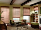 Woven Wood Shades for each window