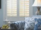 blue room white shutters
